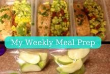 Weekly Meal Prep Ideas / by Sarah Mullins Peterson