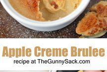 Creme Brulee Desserts