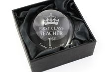 Thanks Teachers Gifts / Show personalised gifts for teacher to say thank you for all there hard work they have done all year