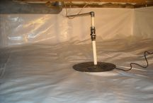 Crawl Space Vapor Barrier / Crawl Space vapor barriers.  http://www.indianacrawlspacerepair.com/vapor-barrier/