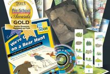 Bear Hunt / We're Going on a Bear Hunt by Michael Rosen has been a big hit with children for years and this year (2014) marks the 25th anniversary of the book.