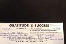 Gratitude & Success