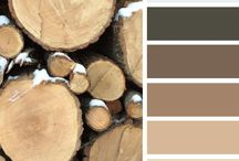Be Inspired: Brown & Beige / Be inspired with color! Brown and beige.