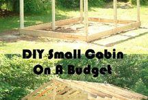 building a small cabin