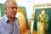 "Botero / Fernando Botero Angulo (born 19 April 1932) is a figurative artist and sculptor from Medellín, Colombia. His signature style, also known as ""Boterismo"", depicts people and figures in large, exaggerated volume, which can represent political criticism or humor, depending on the piece. He is considered the most recognized and quoted living artist from Latin America, and his art can be found in highly visible places around the world. / by Tomás Ribas I"