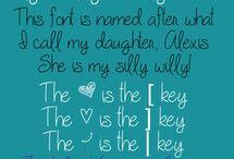 Fonts for Cricut pens