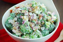 Salads/vege dishes