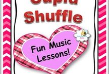Valentine's Day for Music Class / Valentine's day songs, music games, music activities. Music worksheets and dances.