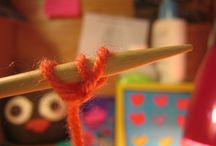 Knitting methods and stitches