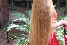 unusual long hair