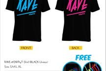 DWP Merchandise / #unofficial merhcandise for Indonesia's Biggest Dance Music Festtival  Get Free Glow Glasess & Glow Bracelet