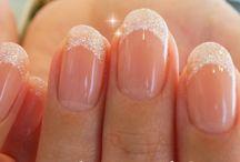 シンプルフレンチ Simple French nail