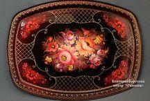 Painting tagil - Тагильская роспись