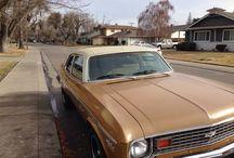 Used 1974 Chevrolet Nova for Sale ($6,399) at Stockton, CA / Make:  Chevrolet, Model:  Nova, Year:  1974, Exterior Color: Gold, Interior Color: Tan, Vehicle Condition: Good,  Mileage:88,000 mi, Engine: 8 Cylinder, Fuel: Gasoline, Transmission: Automatic, Drivetrain: 2 wheel drive.   Contact: 209-915-2926   Car ID (56569)