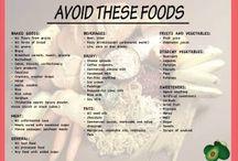 Banting Red List / Do not eat