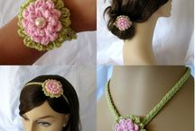flores e colares