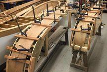 lemn curbat