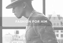// F A S H I O N  |  H I M / Fashion for him - #man
