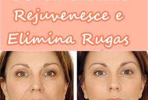 Botox caseiro para o rosto. Elimina rugas