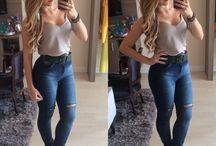 Roupas de jeans