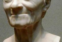 Sculptures visages classique et moderne