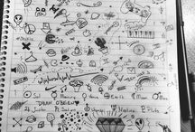 DOODLES AND DRAWINGS