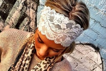 cute lace headbands / by Tracy Boyett Williams