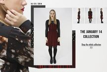 January '14 Collection / Pieces of the January 14 Collection featuring Aurora / WST.fi