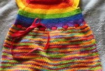 Salopete tricotate