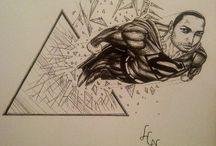 Art / Random Different Art works...