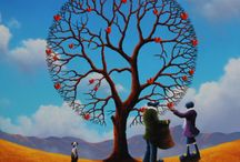 The Fruits Of Love. Original Oil Painting by David Renshaw.