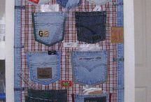 Jeans Taschen behang