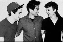 dyl, ki and tom