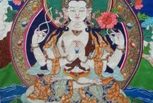 Vajra thangka (Created by me) / All my art works are pure silk and hand stitched! More info please visit www.vajrathangka.com