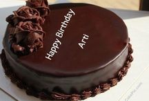 Happy Birthday cake with namebirthday