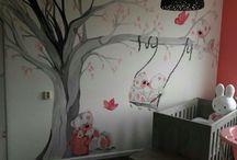Betaalbare muurschilderingen kinderkamers! / Muurschilderingen voor jong en oud.