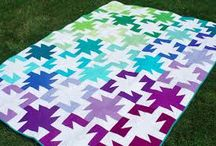 solids... quilting inspiration