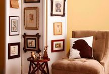Art in the Home / Tips and inspiration on how to display art in your home.