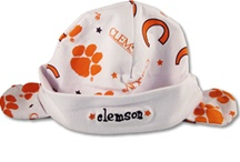 Tiger Cubs / Let's raise those babies right! Raise them to bleed orange and have their first word be Clemson! Haha! Items for your little cub can be purchased online at www.tigertowgraphics.com and in store at Tigertown Graphics in Clemson, South Carolina / by Tigertown Graphics