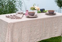 Washed linen tablecloths & more