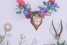 Botanical Wedding / Floral fiary garden chic wedding