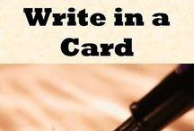 Card verses