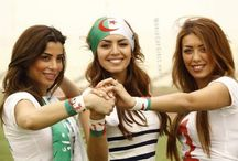 Algerian Fans Girls
