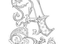 letter ornament