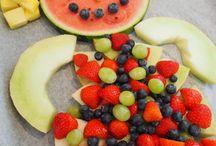 Frugtdyr / Kreationer af frugt