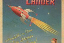 Retro Space Graphics