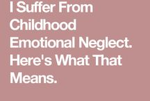 Childhood Emotional Neglect (CEN)