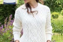 knitting beautiful sweater