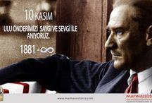 10 Kasim Atatürk'ü Anma Günü / marmassistance ailesi olarak, Ulu Önder Mustafa Kemal Atatürk'ümüzü sevgi, saygı ve rahmet ile anıyoruz. https://www.linkedin.com/company/marm-assistance