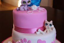 Pets shop cake
